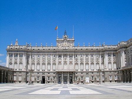 Дворцы Мадрида бесплатно