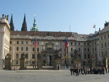 Главный вход в Пражский Град