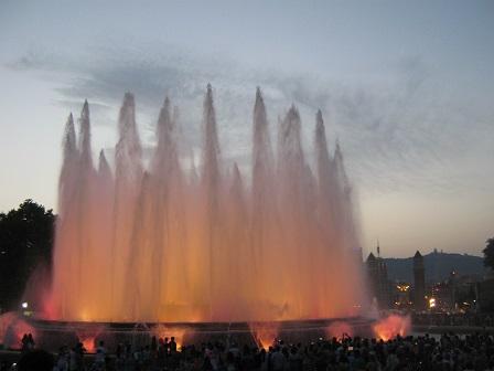 Магический фонтан. Цветомузыкальное шоу