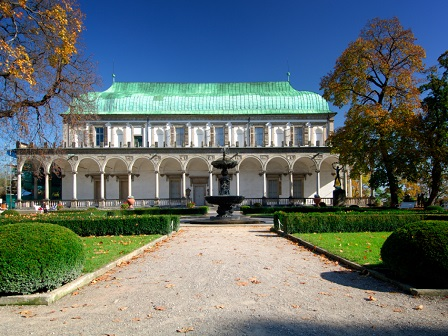 Прага. Летний дворец королевы Анны