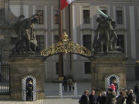 Пражский Град. Ворота Матиаса