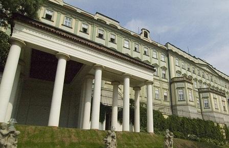 Прага. Рожмбергский дворец