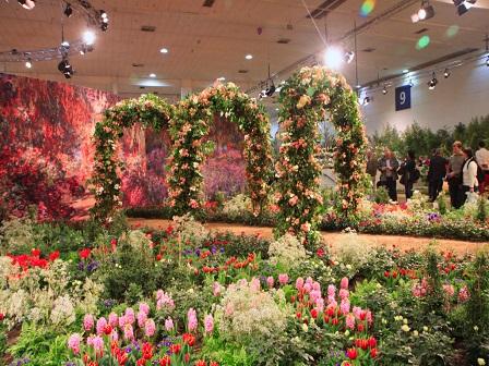 Цветочная выставка в Берлине - 2017