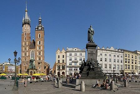 Краков - Мариацкий собор