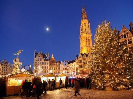 Рождество в Бельгии - 2017