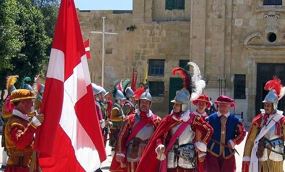 Парады на Мальте