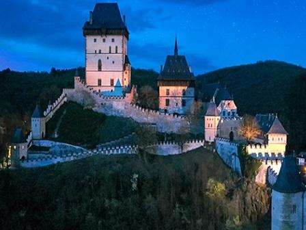 Ночь замков в Чехии