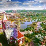 Miracle Garden - уникальный парк цветов в Дубае
