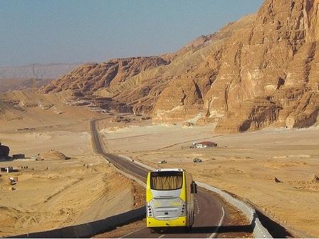 Из Каира в Шарм эль Шейх