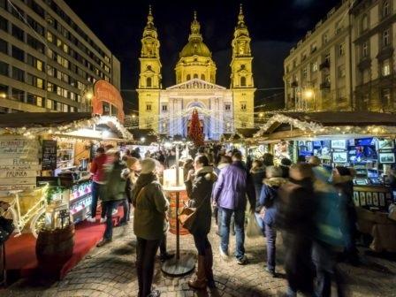 Рождественский базар в Будапеште - 2019